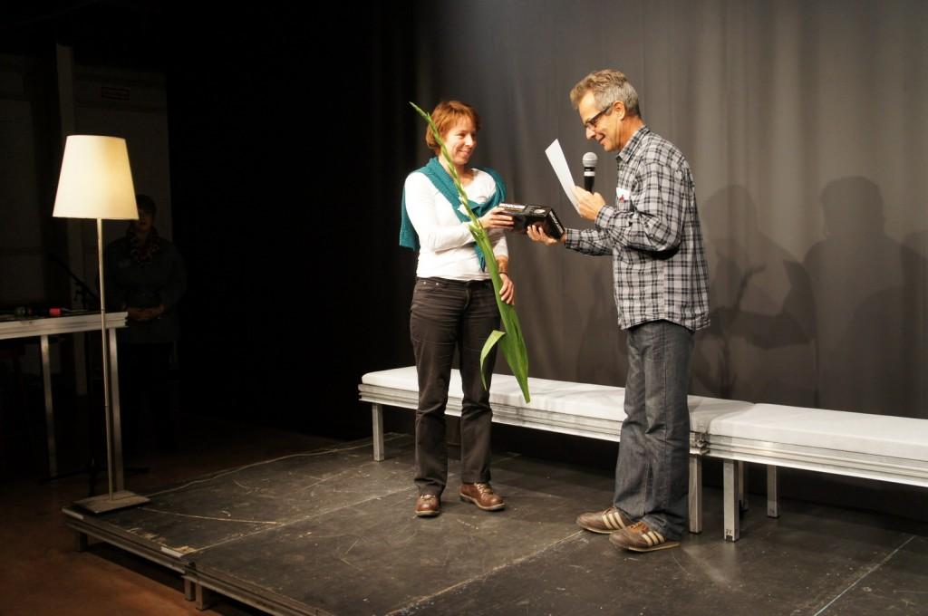Annette Scheld, Lorenz Rollhaeuser. Foto: Josef Maria Schäfers