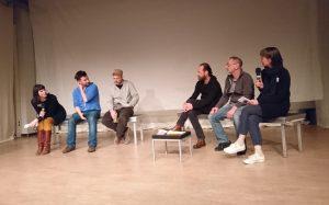 Stephan Roiss und die Band Tortoma: Heiko Ruth, Markus Theisen, Dirk Borho. Bild: Sophia Sprengel.