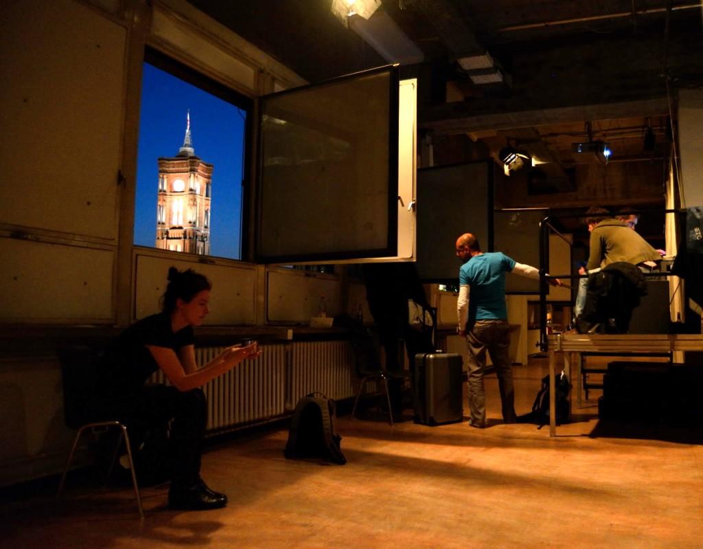 Theaterdiscounter Backstage. Bild: Tobias Dutschke.