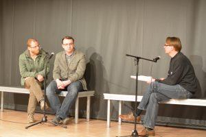 Markus Riexinger, Merlin Delhaes. Bild: Giuseppe Maio.