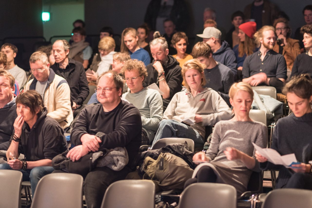 BHF 2019 The Audience is listening. Bild: Golo Föllmer.
