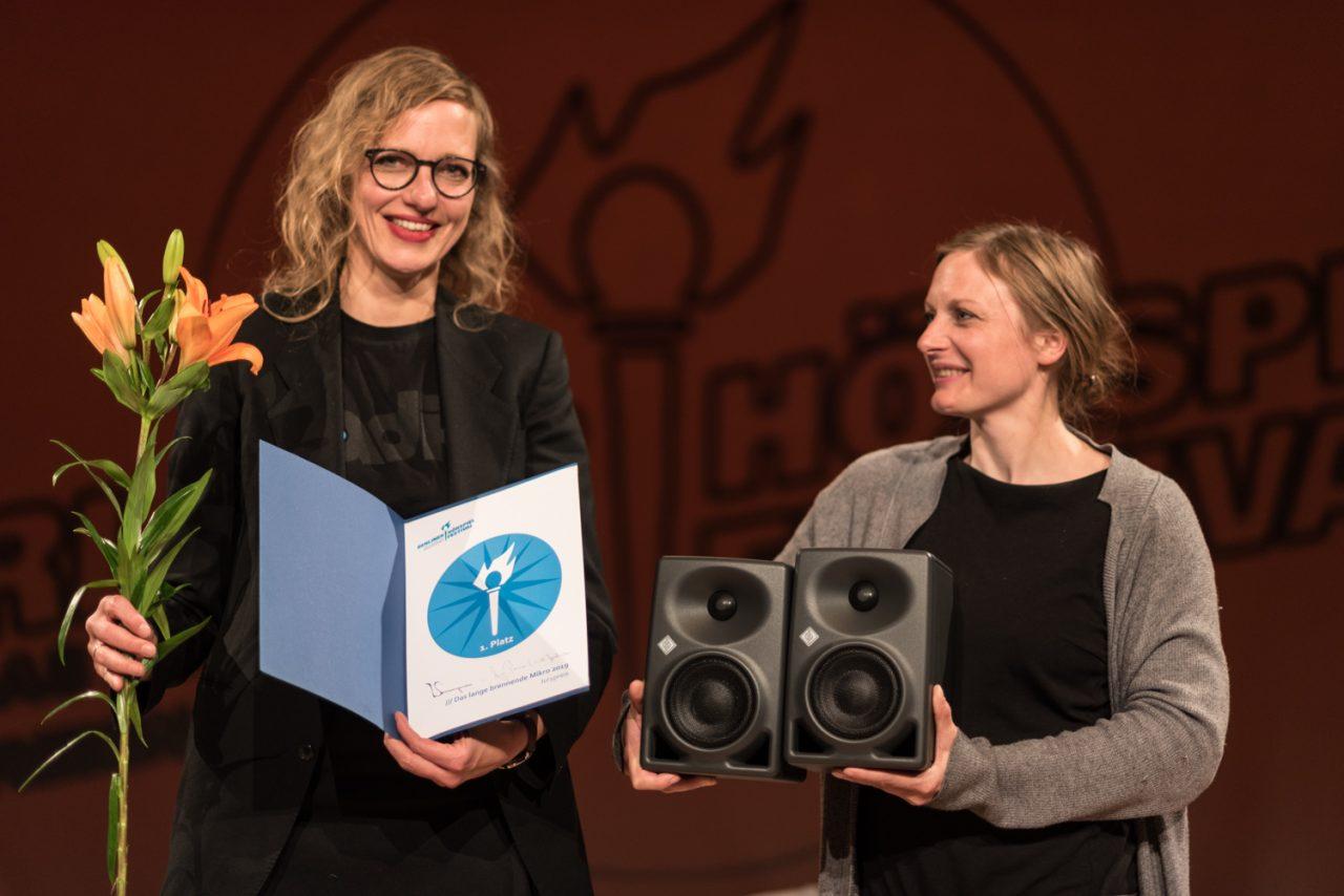 Anja Penner. Andreja Andrisevic. Bild: Golo Föllmer.
