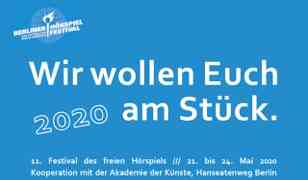 Ausschreibung zum 11. Berliner Hörspielfestival