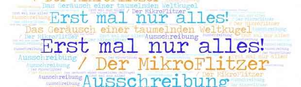 Ausschreibung / Der MikroFlitzer 2020