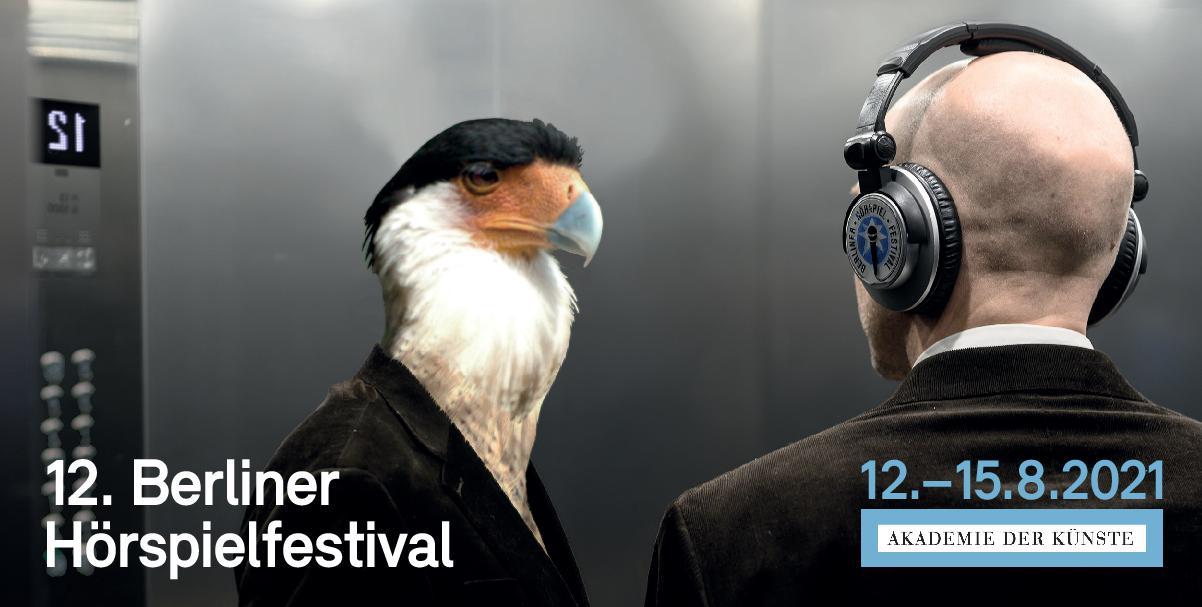 Berliner Hörspielfestival 2021 Einladungskarte, S. 1