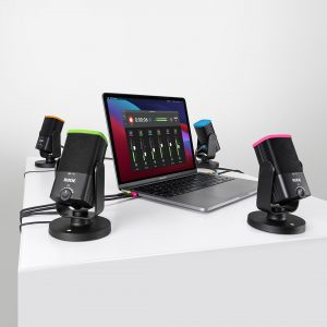 RODE 4x NT-USB Mini, 1x COLORS, Software CONNECT