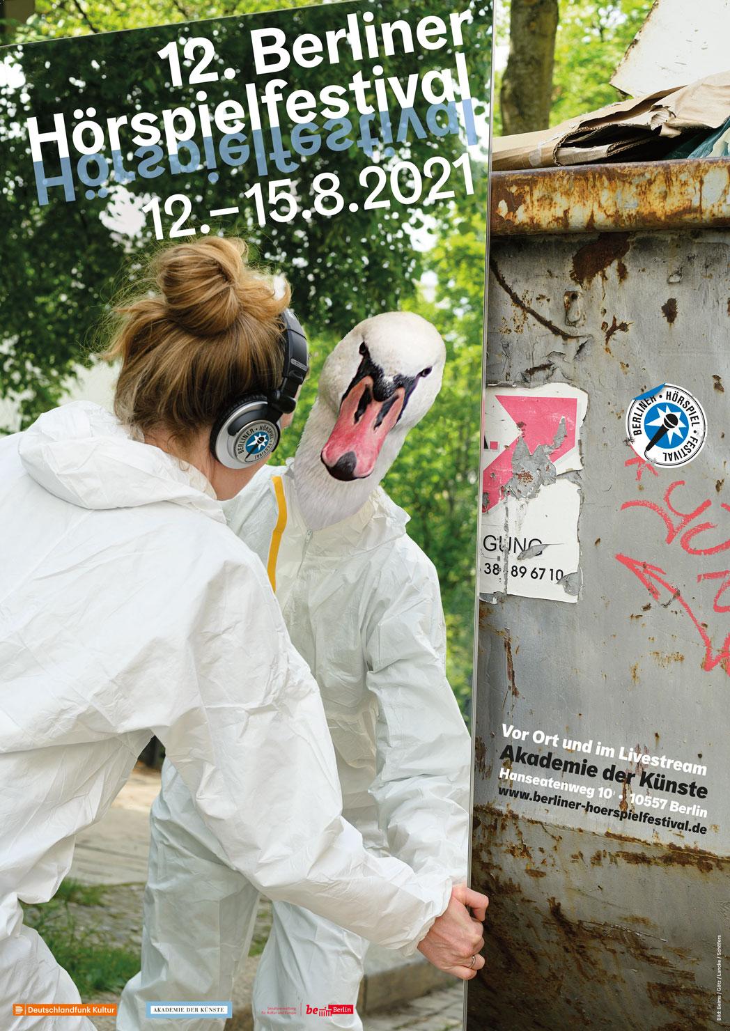 BHF 2021 Schwan Plakat